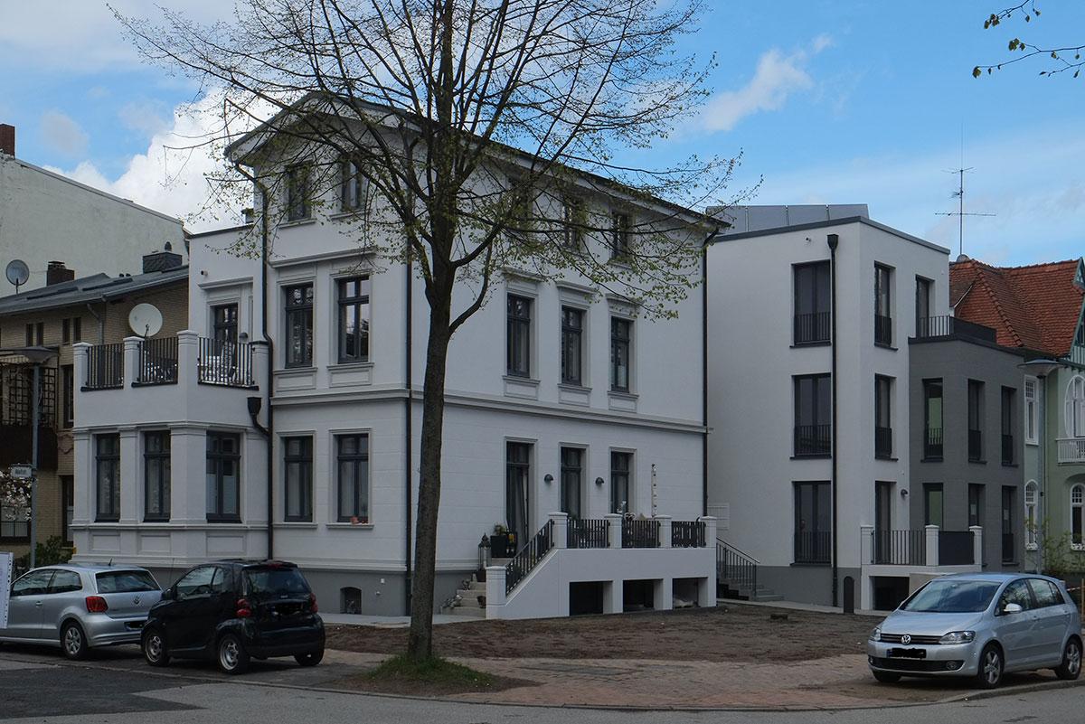 Wohnen am l becker stadtpark bruch suhr architekten - Architekten lubeck ...