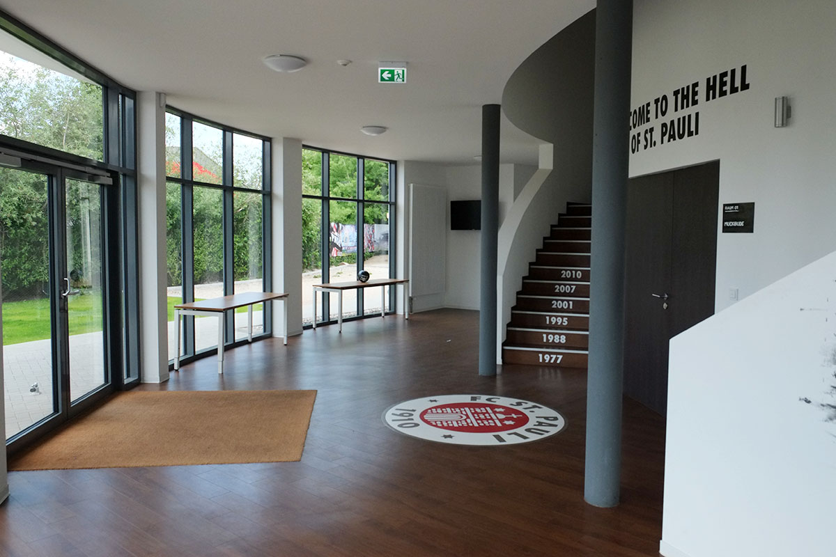 Bruch + Suhr Architekten - Trainingszentrum FC St. Pauli